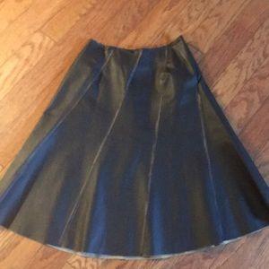 Speigel Leather Skirt